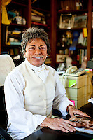 Rita Mae Brown in the room where she writes, at Tea-Time Farm in Afton, VA on March 30, 2010..CREDIT: Stephen Voss for The Wall Street Journal.BROWN