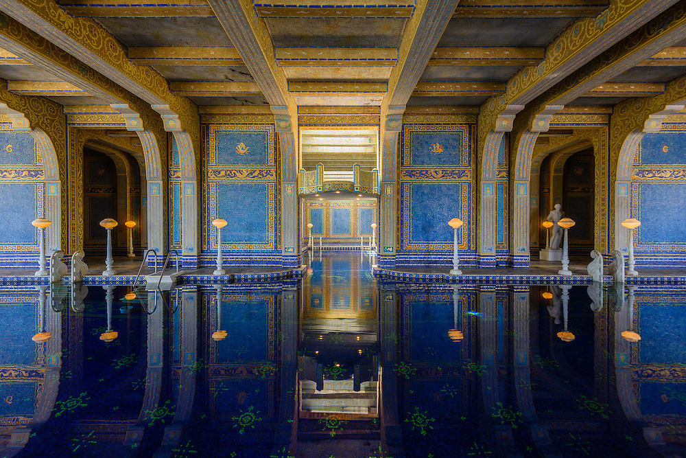 Hearst Castle is a National and California Historical Landmark mansion located on the Central Coast of California, United States. It was designed by architect Julia Morgan between 1919 and 1947[3] for newspaper magnate William Randolph Hearst