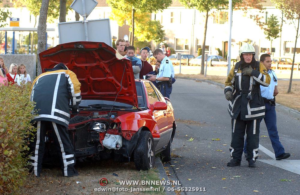 Ongeval Bovenmaatweg Huizen