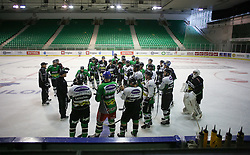 at first practice session of HDD Telemach Olimpija in Hala Tivoli for season 2015/16, on August 19, 2015 in Hala Tivoli at Ljubljana, Slovenia. (Photo by Matic Klansek Velej / Sportida.com)