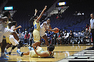 """Ole Miss vs. Southern at the C.M. """"Tad"""" Smith Coliseum in Oxford, Miss. on Thursday, November 20, 2014. (AP Photo/Oxford Eagle, Bruce Newman)"""