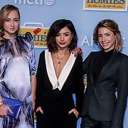 NLD/Amsterdam/20150119 - Premiere film Homies, cast, Caroline Spoor, Charlie Chan Dagelet en Kiki van Deursen