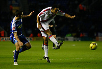 Photo: Steve Bond/Richard Lane Photography. Leicester City v Crystal Palace. E.ON FA Cup Third Round. 03/01/2009. Paul Ifill shoots