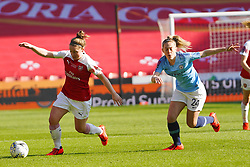 February 23, 2019 - Sheffield, England, United Kingdom - Kim Little (Captain) of Arsenal against Keira Walsh of Manchester City..during the FA Women's Continental League Cup Final football match between Arsenal Women and Manchester City Women at Bramall Lane on February 23, 2019 in Sheffield, England. (Credit Image: © Action Foto Sport/NurPhoto via ZUMA Press)