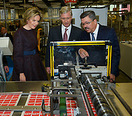 King Philip Queen Mathilde Visit Province Anvers