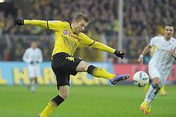 """28.01.2012, Signal Iduna Park, Dortmund, GER, 1. FBL, Borussia Dortmund vs 1899 Hoffenheim, 19. Spieltag, im Bild Jakub Blaszczykowski (Dortmund #16) // during the football match of the german """"Bundesliga"""", 19th round, between GER, 1. FBL, Borussia Dortmund and 1899 Hoffenheim, at the Signal Iduna Park, Dortmund, Germany on 2012/01/28. EXPA Pictures © 2012, PhotoCredit: EXPA/ Eibner/ Ulrich Roth..***** ATTENTION - OUT OF GER *****"""