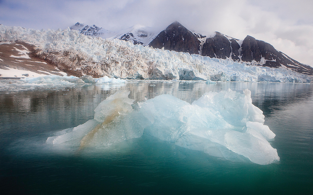 Ocean Ice, Spitsbergen, Svalbard