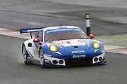 78 LMGTE Am KCMG / Porsche 911 RSR / Christian Ried / Wolf Henzier / Joel Camathias during the FIA World Endurance Championship Qualifying at Silverstone, Towcester, United Kingdom on 15 April 2016. Photo by Craig McAllister.