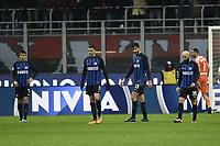 delusione Inter Dejection <br /> Milano 27-12-2017 Stadio Giuseppe Meazza in San Siro Calcio Coppa Italia Milan - Inter foto Image Sport/Insidefoto