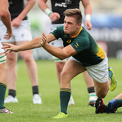 Zak Burger of South Africa U20 during the U20 World Championship match between Ireland and South Africa on June 3, 2018 in Narbonne, France. (Photo by Manuel Blondeau/Icon Sport)