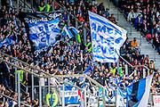 ALKMAAR - 01-05-2016, AZ - de Graafschap, AFAS Stadion, 4-1, supporters de Graafschap.