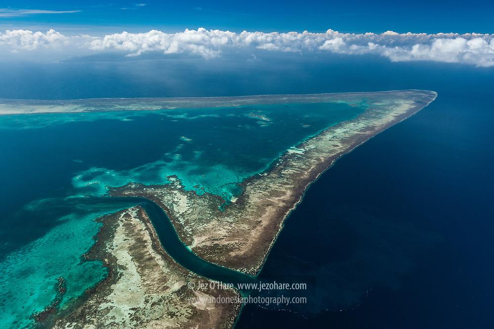 Lentea reef, Tomia & Binongko Island (top LHS), Wakatobi National Park, Tukang Besi Islands, South East Sulawesi, Indonesia