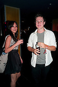 SOFIET LINDSKOD; OLLY BARBIERA, After-party for the film premiere of BONDED BY BLOOD at Punk Soho. London. 31 August 2010. -DO NOT ARCHIVE-© Copyright Photograph by Dafydd Jones. 248 Clapham Rd. London SW9 0PZ. Tel 0207 820 0771. www.dafjones.com.