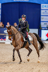 TRUPPA Valentina (ITA), Ranieri<br /> München - Munich Indoors 2019<br /> Preis der Liselott und Klaus Rheinberger Stiftung<br /> Grand Prix de Dressage (CDI4*) <br /> Wertungsprüfung MEGGLE Champion of Honour,<br /> Qualifikation für Grand Prix Special<br /> 22. November 2019<br /> © www.sportfotos-lafrentz.de/Stefan Lafrentz