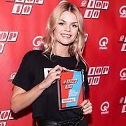NLD/Amsterdam/20190111 - Top 40 launch Party,  Davina Michelle wint de award Meeste weken op nummer 1