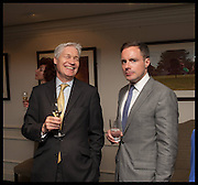 RICHARD KAY; HENRY DEEDES, The hon Alexandra Foley hosts drinks to introduce ' Lady Foley Grand Tour' with special guest Julian Fellowes. the Sloane Club. Lower Sloane st. London. 14 May 2014