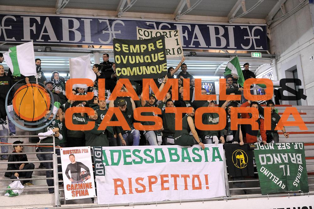 DESCRIZIONE : Ancona Lega A 2012-13 Sutor Montegranaro Sidigas Avellino<br /> GIOCATORE : tifosi<br /> CATEGORIA : tifosi avellino<br /> SQUADRA :  Sidigas Avellino<br /> EVENTO : Campionato Lega A 2012-2013 <br /> GARA : Sutor Montegranaro Sidigas Avellino<br /> DATA : 20/01/2013<br /> SPORT : Pallacanestro <br /> AUTORE : Agenzia Ciamillo-Castoria/C.De Massis<br /> Galleria : Lega Basket A 2012-2013  <br /> Fotonotizia : Ancona Lega A 2012-13 Sutor Montegranaro Sidigas Avellino<br /> Predefinita :