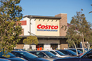 Costco Wholesale Store at The Tustin Market Place in Orange County California