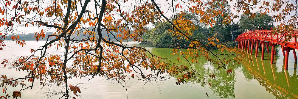 Vietnam Images-panoramic landscape-cityscape-Ha Noi