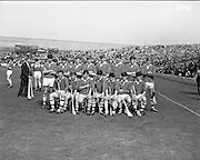 07/09/1969<br /> 09/07/1969<br /> 7 September 1969<br /> All-Ireland Minor Final: Kilkenny v Cork at Croke Park, Dublin.<br /> The Cork minor hurling team who won the match.