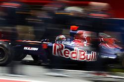 09.03.2011, Circuit de Catalunya, Barcelona, ESP, Formel 1 Test 4 2011,  im Bild Sebastien Buemi (SUI),  Scuderia Toro Rosso .!EXPA Pictures © 2011, PhotoCredit: EXPA/ nph/  Poleposition.at       ****** only for AUT ans SLO *******
