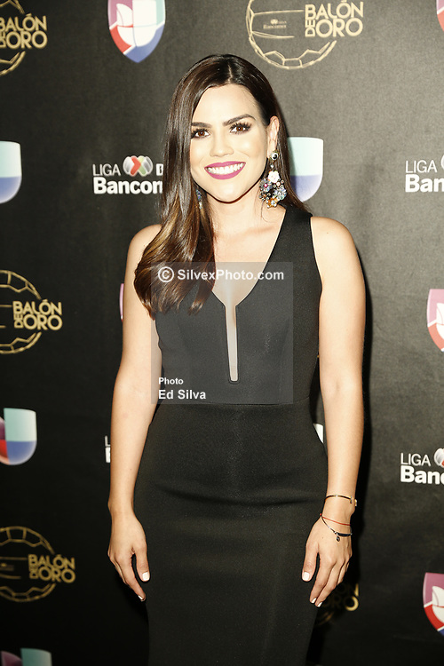 LOS ANGELES, CA - JULY 15: Karina Banda attends Univision Deportes' Balon De Oro 2017 Awards at The Orpheum Theatre in Los Angeles, California on July 15, 2017 in Los Angeles, California. Byline, credit, TV usage, web usage or linkback must read SILVEXPHOTO.COM. Failure to byline correctly will incur double the agreed fee. Tel: +1 714 504 6870.