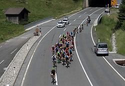 07.07.2017, St. Johann Alpendorf, AUT, Ö-Tour, Österreich Radrundfahrt 2017, 5. Etappe von Kitzbühel nach St. Johann/Alpendorf (212,5 km), im Bild das Feld am Felbertauern, Salzburg // the peleton climbs the Felbertauern during the 5th stage from Kitzbuehel to St. Johann/Alpendorf (212,5 km) of 2017 Tour of Austria. St. Johann Alpendorf, Austria on 2017/07/07. EXPA Pictures © 2017, PhotoCredit: EXPA/ Reinhard Eisenbauer