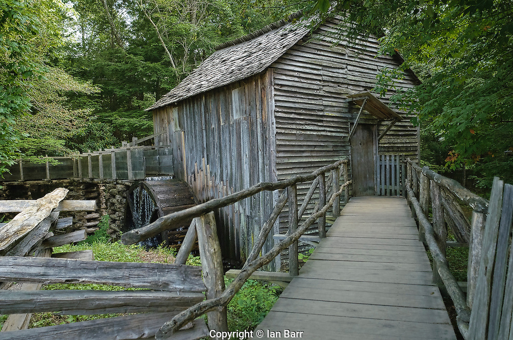 Gris Mill at Cable mill,Great Smoky mountains National Park.