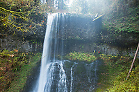 Middle North Falls at Silver Falls State Park, OR.
