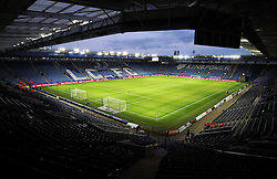 General view of the King Power Stadium before the match - Mandatory byline: Jack Phillips/JMP - 01/03/2016 - FOOTBALL - King Power Stadium - Leicester, England - Leicester City v West Bromwich Albion - Barclays Premier League