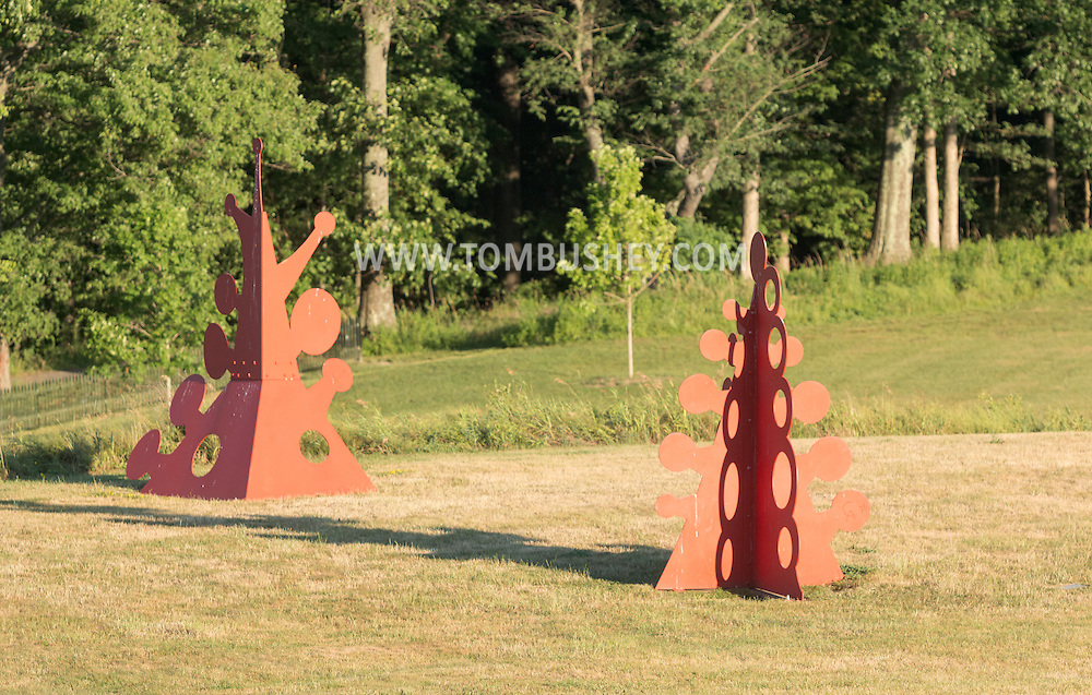 Cornwall, New York - Views of Storm King Arts Center on June 29, 2016.