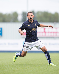 Falkirk's Tom Taiwo. Falkirk 3 v 1 East Fife, Petrofac Training Cup played 25th July 2015 at The Falkirk Stadium.