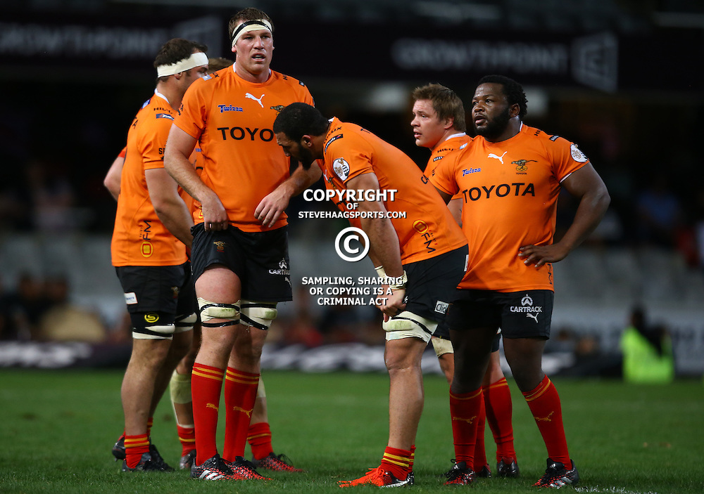 DURBAN, SOUTH AFRICA - SEPTEMBER 10: Reniel Hugo of the Toyota Free State Cheetahs during the Currie Cup match between the Cell C Sharks and Toyota Cheetahs at Growthpoint Kings Park on September 10, 2016 in Durban, South Africa. (Photo by Steve Haag/Gallo Images)