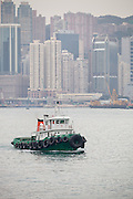 Tug Boat, Hong Kong Harbour