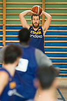 Sergio Rodriguez during the Spain training session before EuroBasket 2017 in Madrid. August 02, 2017. (ALTERPHOTOS/Borja B.Hojas)