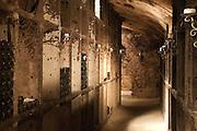 Schatzkammer Weinkeller, Weingut Georg Müller Stiftung, Hattenheim, Rheingau, Hessen, Deutschland.|.wine cellar Weingut Georg Müller Stiftung, Hattenheim, Rheingau, Hessen Germany