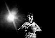 3/17/14: Portrait of Manvel's Brianna Turner, who is the Chronicle's All-Greater Houston girls basketball player of the year. Turner who is 6ft 3 inches will be attending Notre Dame in the Fall.