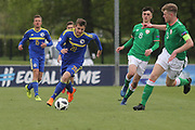Armin Saric of of Bosnia and Herzegovina (20) during the UEFA European Under 17 Championship 2018 match between Bosnia and Republic of Ireland at Stadion Bilino Polje, Zenica, Bosnia and Herzegovina on 11 May 2018. Picture by Mick Haynes.