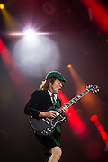 Angus Young of ACDC live at the Aviva Stadium, Dublin