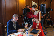 Miss India<br /> Judging of the traditional dance to see which women will lead with their countries dance in the final show.