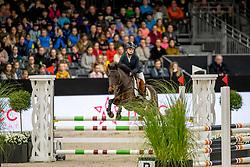 Van Loon Mathisse, BEL, Calypso<br /> JIM Maastricht 2019<br /> Limmy Middag Euregio Jumping Ponies<br /> © Hippo Foto - Dirk Caremans<br />  09/11/2019