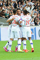 Joie Lyon - Clement GRENIER - 02.05.2015 - Lyon / Evian Thonon - 35eme journee de Ligue 1<br />