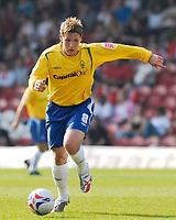 Photo: Alan Crowhurst.<br />Brentford v Nottingham Forest. Coca Cola League 1. 14/04/2007. Forest's double goal scorer Kris Commons.