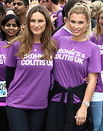 London Charity Walk for Crohn's & Colitis UK - photocall