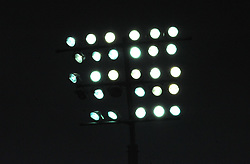 Lights shine down during play in Sandy Park Stadium- Mandatory by-line: Nizaam Jones/JMP- 24/11/2018 - RUGBY - Sandy Park Stadium- Exeter, England - Exeter Chiefs v Gloucester Rugby - Gallagher Premiership Rugby