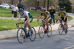 The Wake Forest University Cycling Team hosted three cycling races over a weekend as part of ACCC competition on March 31, 2007 in Winston-Salem, NC.