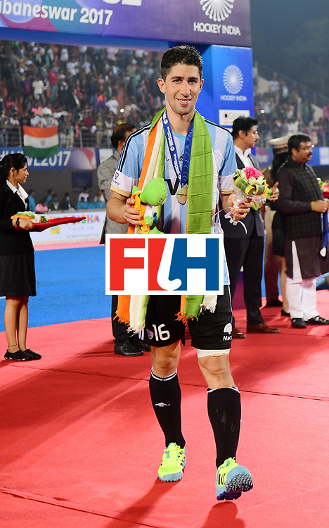 Odisha Men's Hockey World League Final Bhubaneswar 2017<br /> Match id:<br /> Ceremony<br /> Foto: Ignacio Ortiz (Arg) <br /> COPYRIGHT WORLDSPORTPICS FRANK UIJLENBROEK