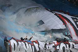 Football: Germany, 1. Bundesliga, Braunschweig, 15.02.2014<br />fans hsv<br /> copyright: pixathlon