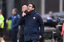 24.01.2018, Stadio Luigi Ferraris, Genua, ITA, Serie A, Sampdoria Genua vs AS Roma, 3. Runde, im Bild di francesco eusebio // di francesco eusebio during the Italian Serie A 3th round match between Sampdoria Genua and AS Roma at the Stadio Luigi Ferraris in Genua, Italy on 2018/01/24. EXPA Pictures © 2018, PhotoCredit: EXPA/ laPresse/ Tano Pecoraro<br /> <br /> *****ATTENTION - for AUT, SUI, CRO, SLO only*****