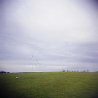 Football pitch in Dunlin Ireland